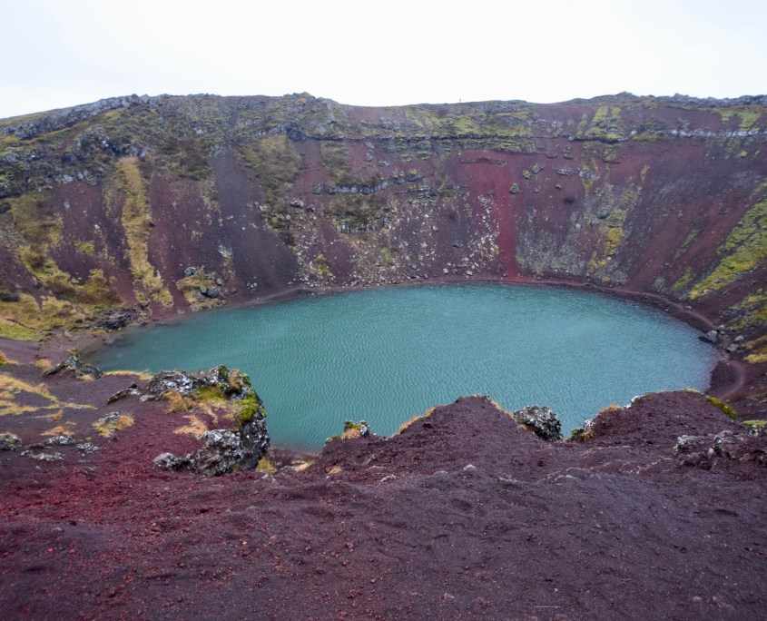 Image of the Kerid Crater, Iceland