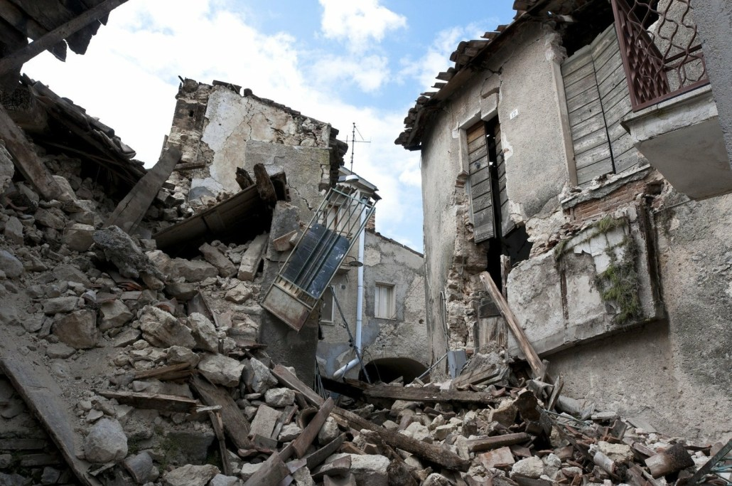 L'Aquila Earthquake Damage