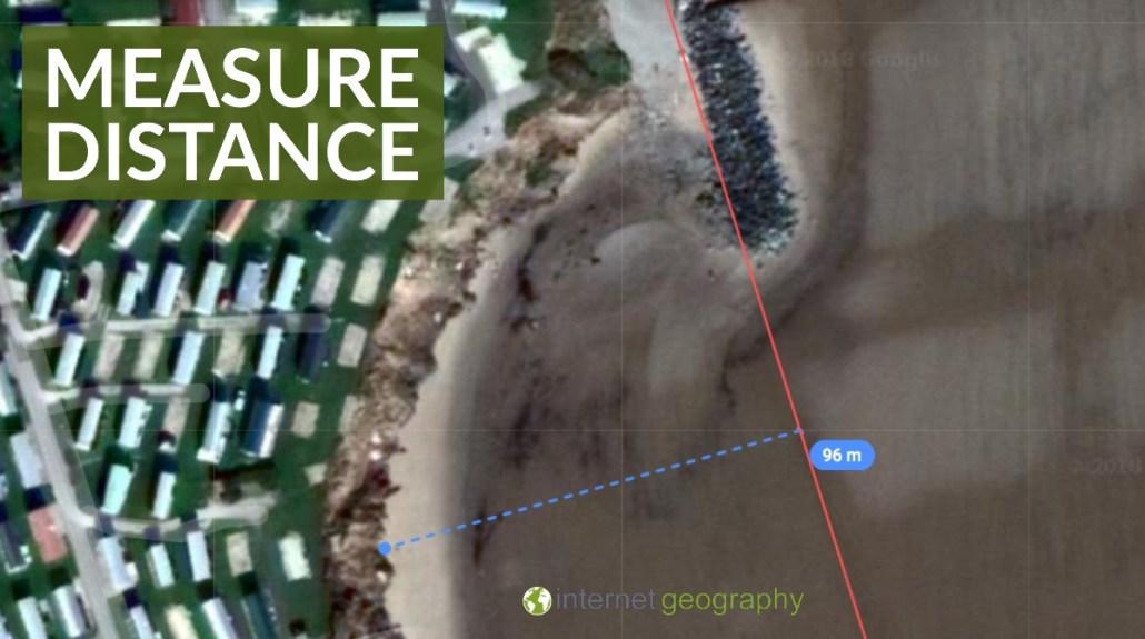 Distance on Google Maps