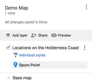 Layers on My Maps
