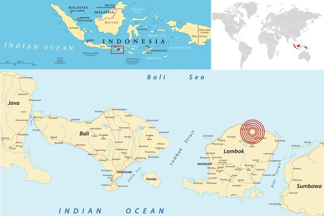 Lombok Indonesia Earthquake 2018 Case Study