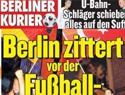 Almanlar'ın Türkiye manşeti