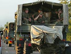 Rus ordusu Osetya'ya girdi