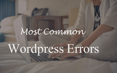30 Most Common Errors in WordPress