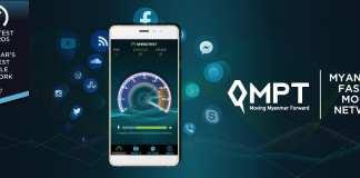 MPT Award LTE Speed Myanmar Yangon