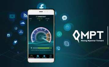 MPT Award LTE Speed Myanmar Yangon
