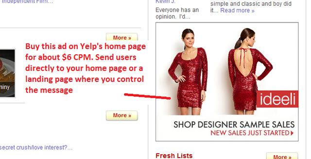 Yelp Advertising National.