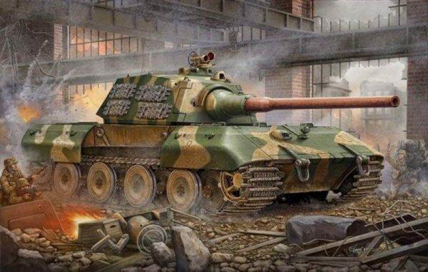 "Trumpeter's 1/35 German E100 ""Super Heavy Tank"""