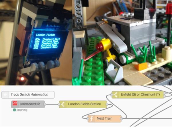 LEGO Train Automation Feature Image