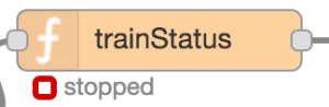 function - train status stopped