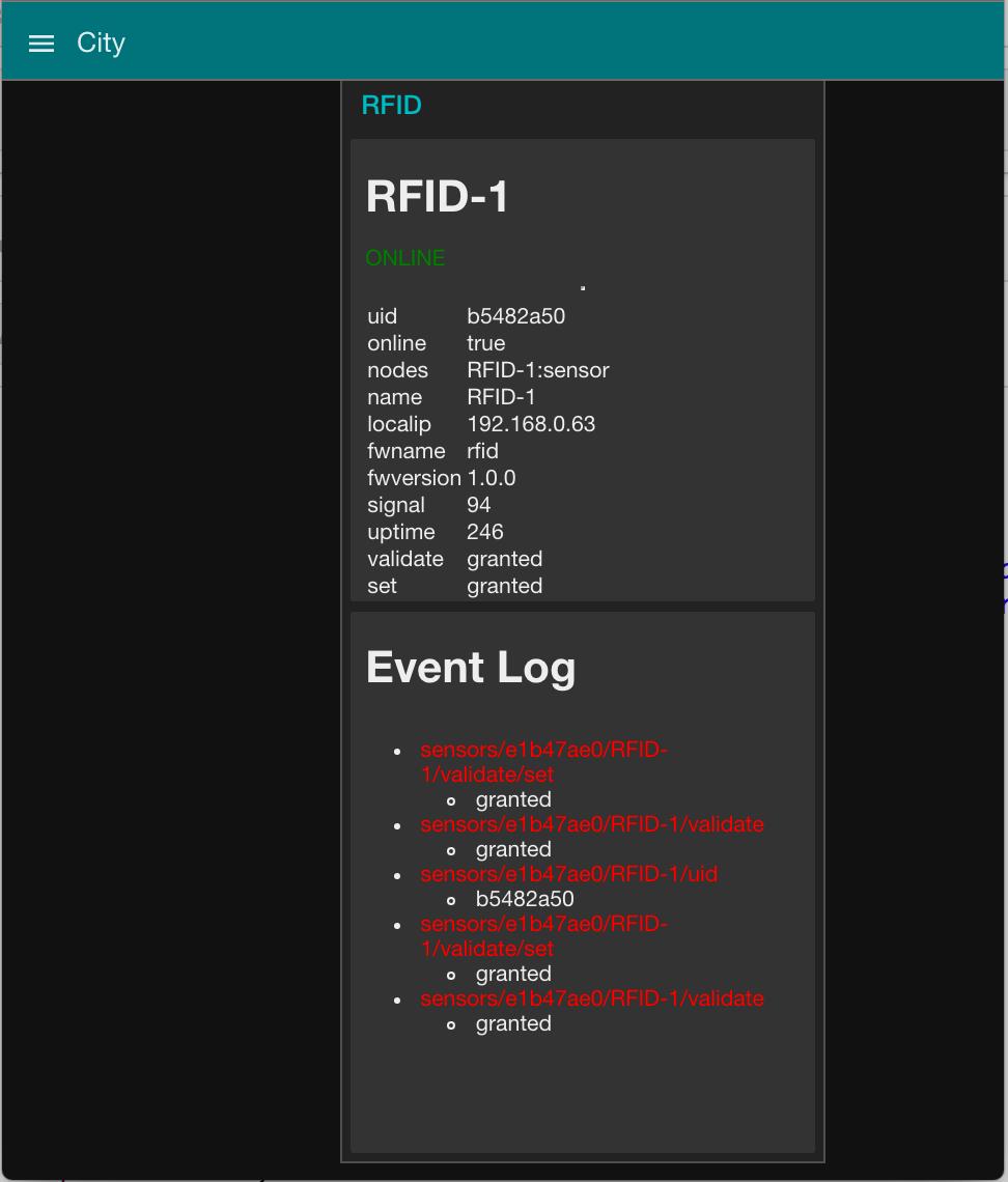 RFID Scanner - WeMos, RC522, Homie MQTT & Node-RED