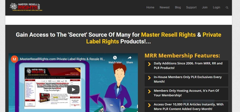 masterresellrights.com