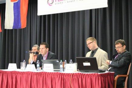 Přerov 2014 - Ing. Mgr. Jaromír Novák (drží mikrofon), Český telekomunikační úřad