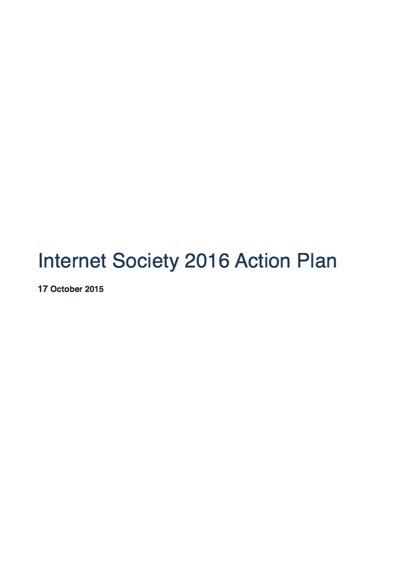 Internet Society 2016 Action Plan Thumbnail