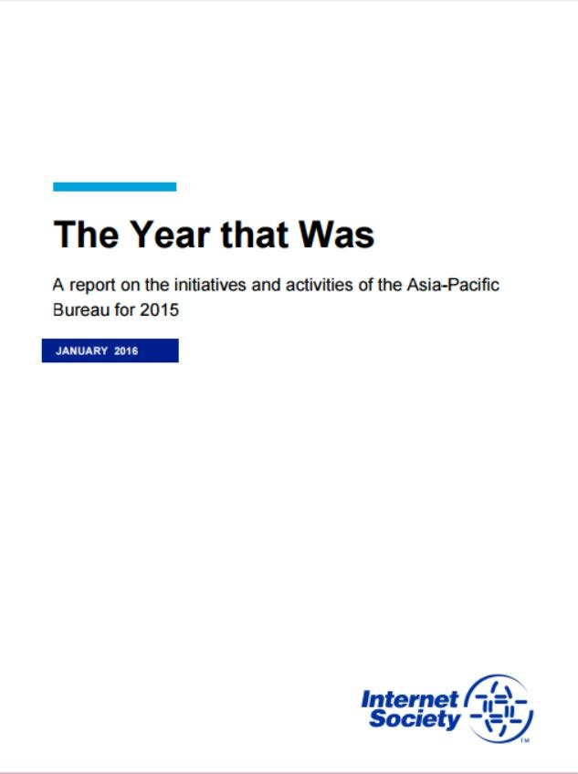 The Year that Was: A report on the initiatives and activities of the Asia-Pacific Bureau for 2015
