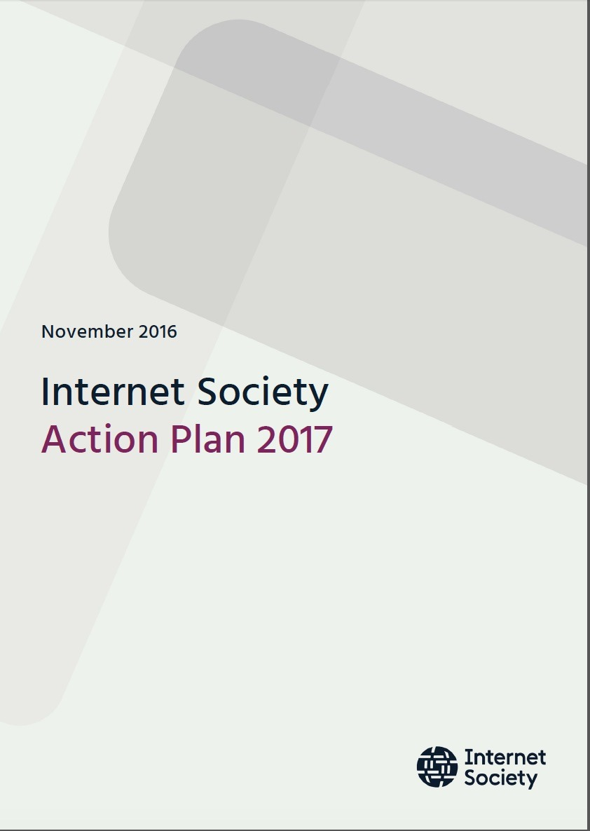 Internet Society's 2017 Action Plan