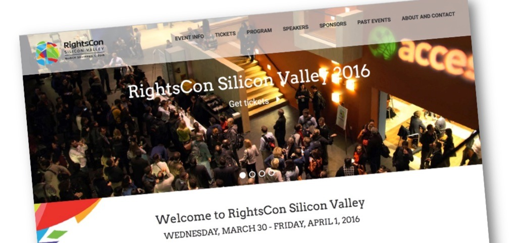 Join us at RightsCon 2016!