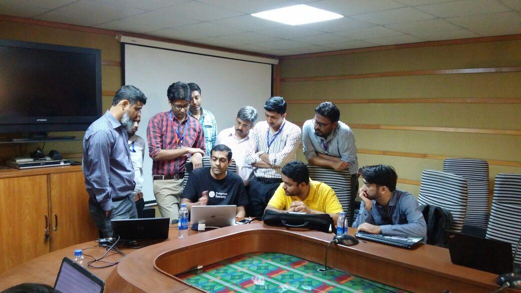 IXP Workshop held in Karachi, Pakistan Thumbnail