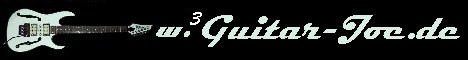 Guitar-Joe´s Gitarrensammlung