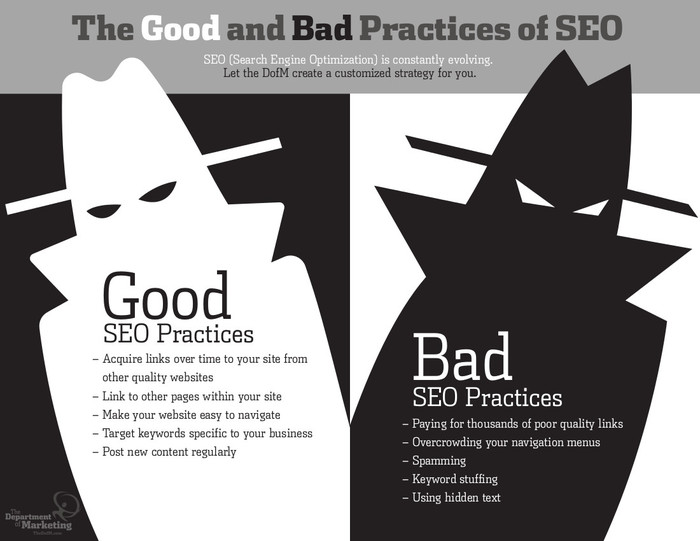 Good and the Bad of SEO