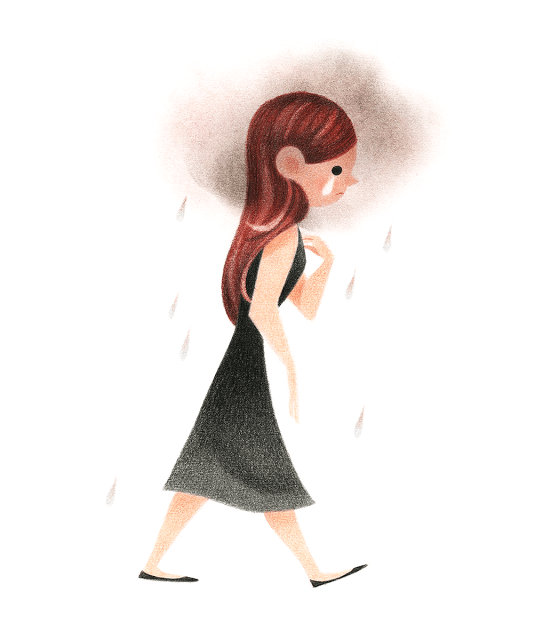 Girl Illustrations by Genevieve Godbout