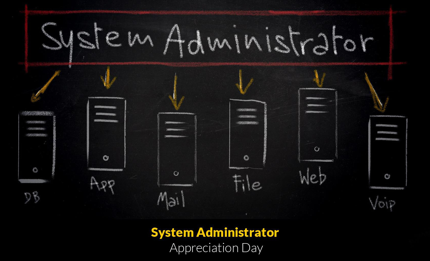 Happy System administrator appreciation day