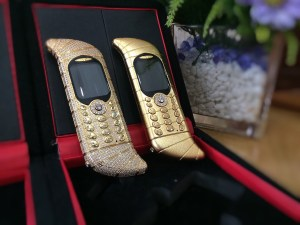 Most Expensive Phone ever made - GoldVish Le Million Piece Unique.