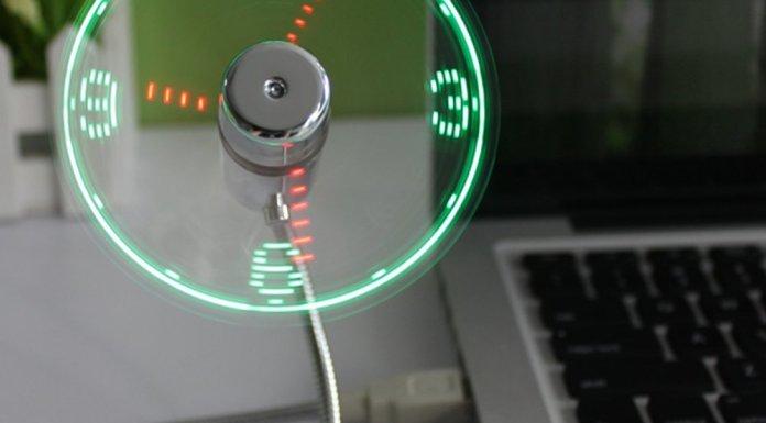 USB Fantastic LED Fan