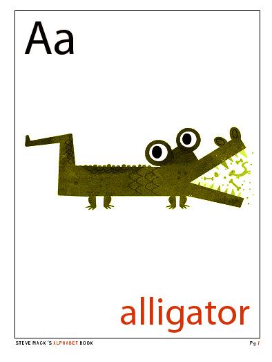 Steve Mack's ABC An Illustrated Alphabet!