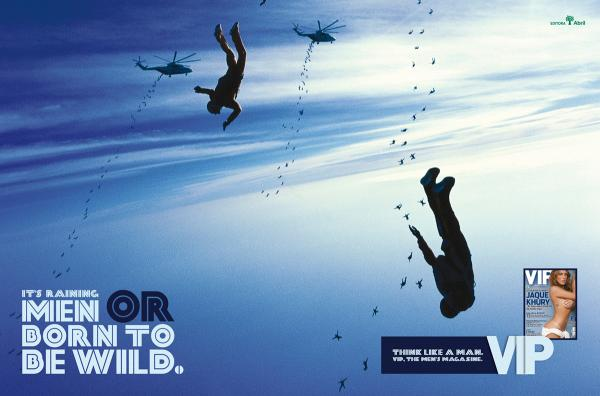 Skydiving + Advertising