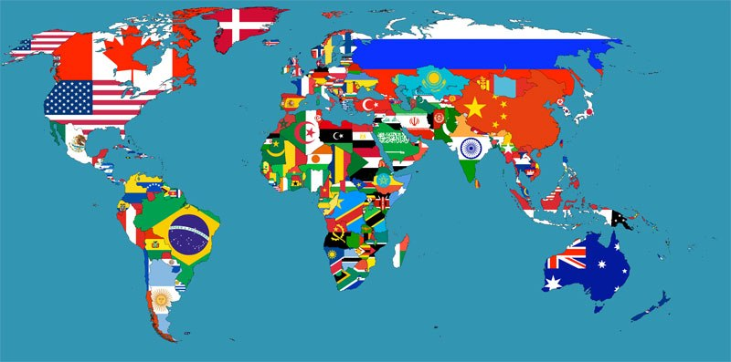 Different meaning of some countries flags