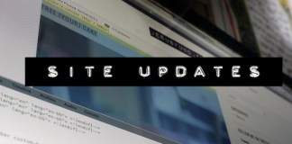 Site Updates, guest posts