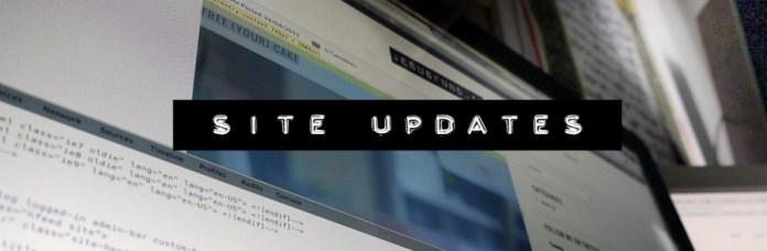 Site Updates, guest posts