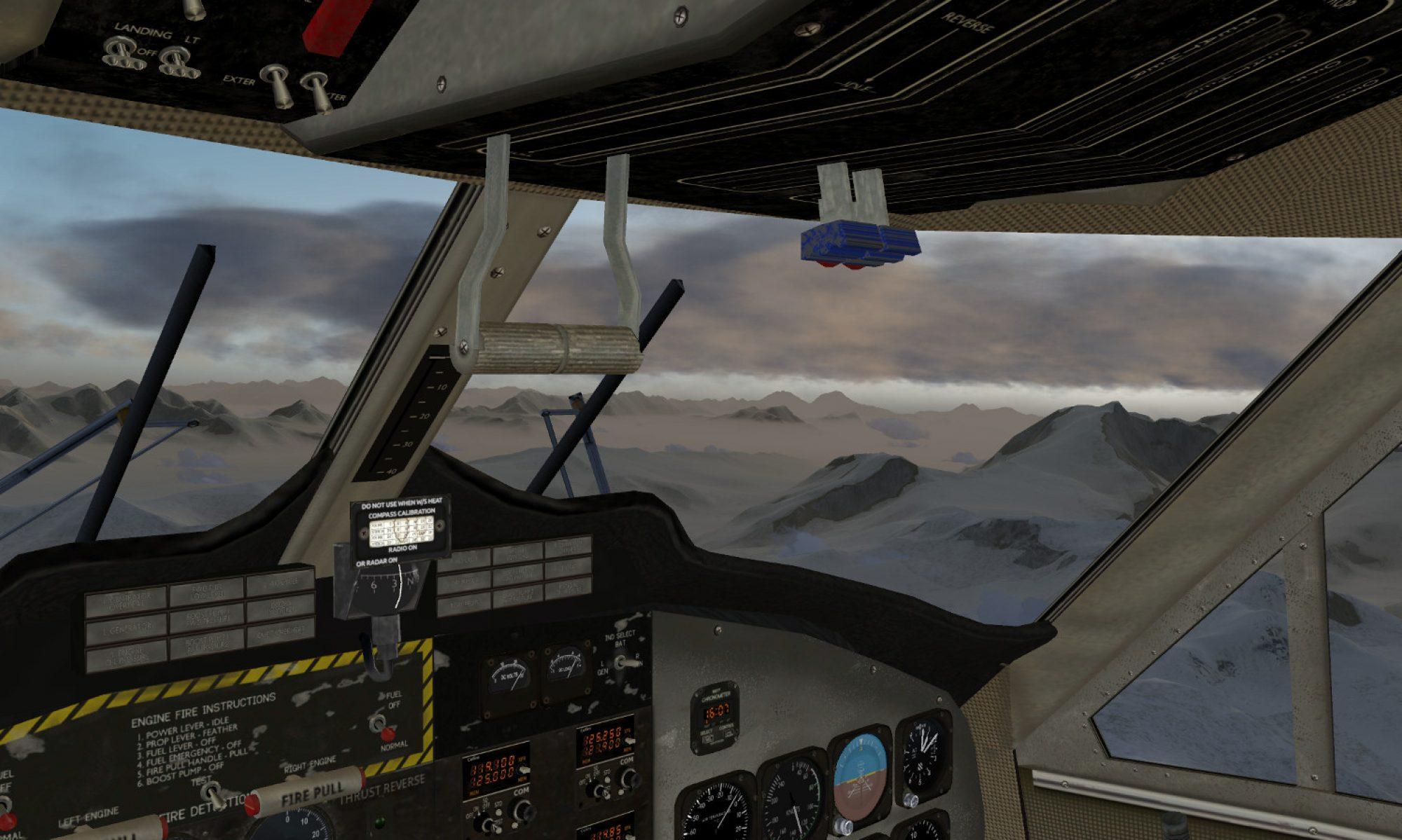 Flight Simulator Hidden Within Google Earth.