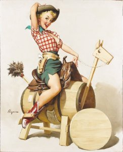Picture of Vintage Pin-Up Girl style