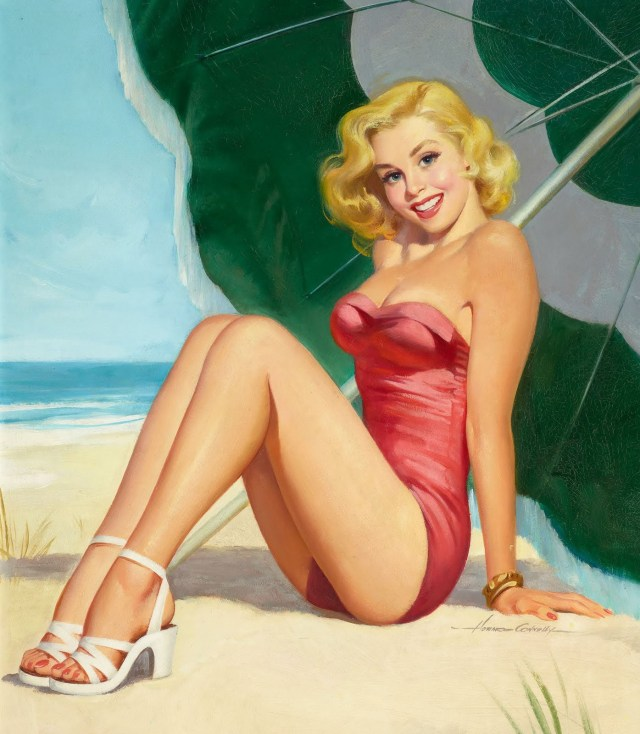 vintage pinups photos