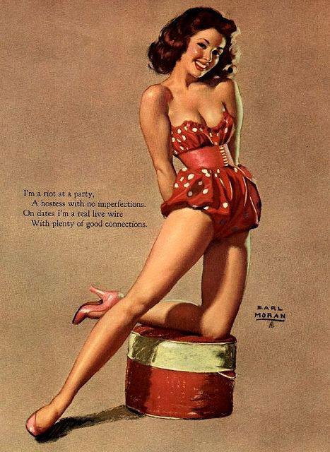 1950s pin up