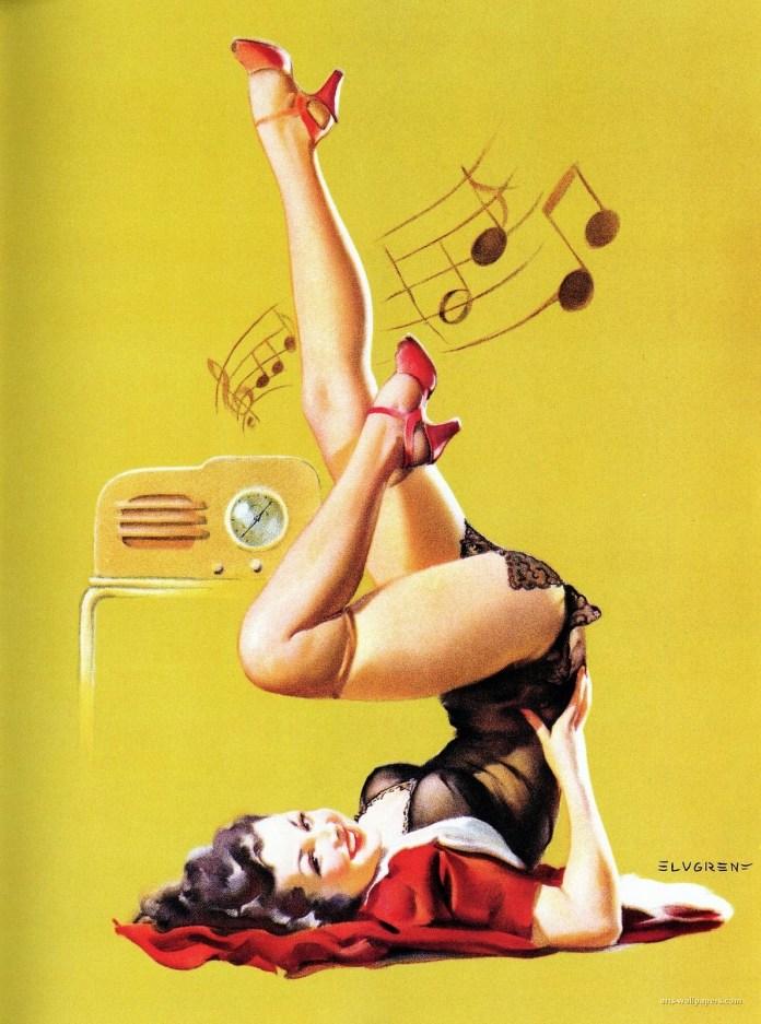 1940s pin up fashion