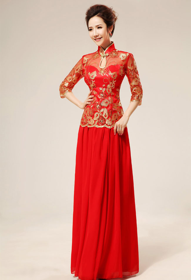 Asian-inspired-mandarin-red-Chinese-dress (30)