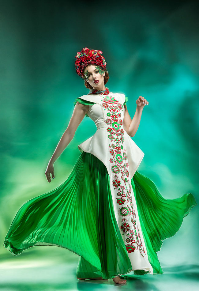 Ukrainian_Traditional_dress-oksana_polonets StudioPolonets_fashion