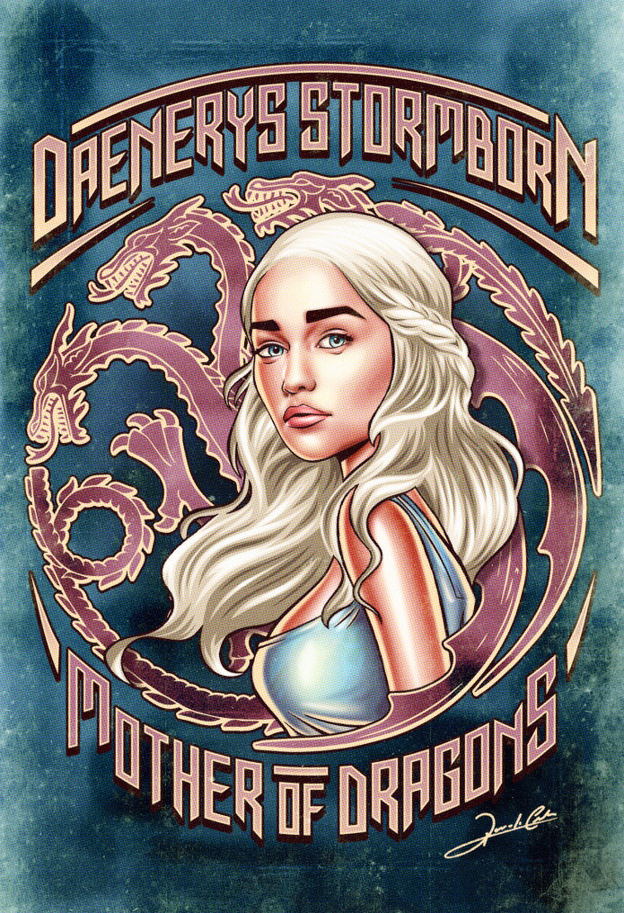 daenerys_stormborn_Pin_Up_Movie_Posters