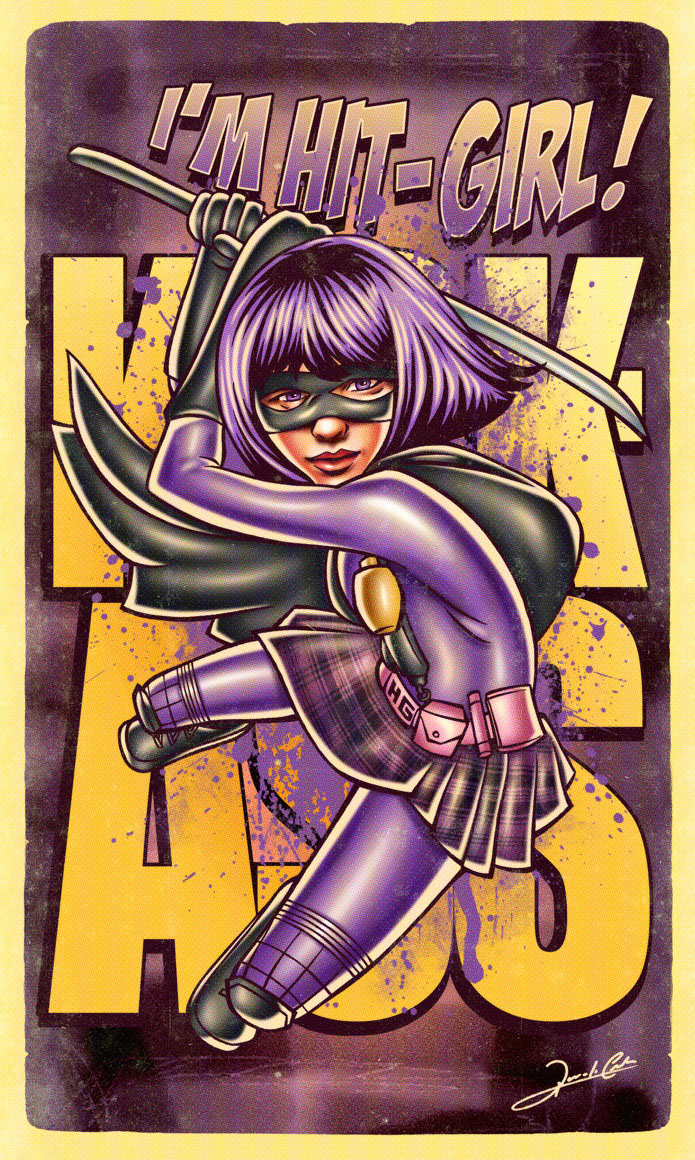 hitgirl_pinup1_Pin_Up_Movie_Posters