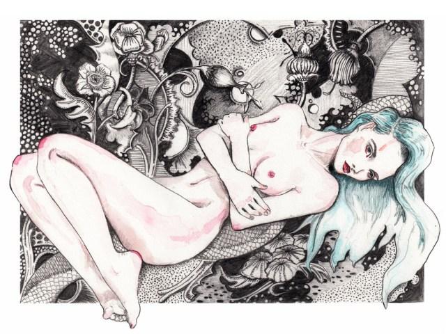 Fashion-Illustrations-by -Natalia-Jheté-Nude