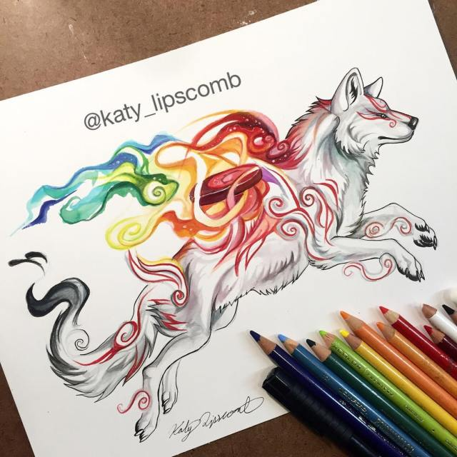 Pencil_Marker_Animal_illustrations_By_Katy_Lipscomb (12)