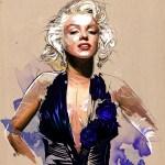 marilyn_monroe by Yann Dalon