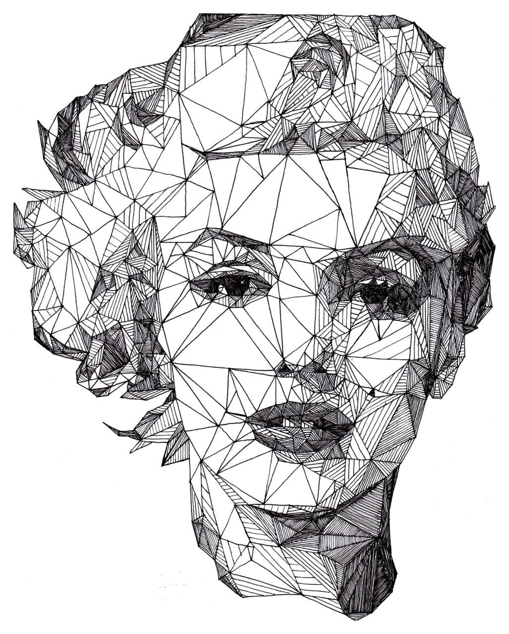 Marilyn Monroe Illustration by Isabel Salvador