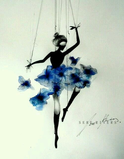 Paintings and Illustrations of Ballet Dancers (5)