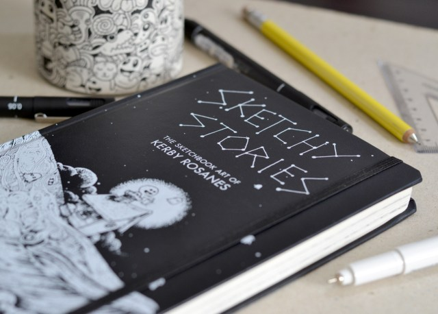 coloring for adults of Kerby Rosanes