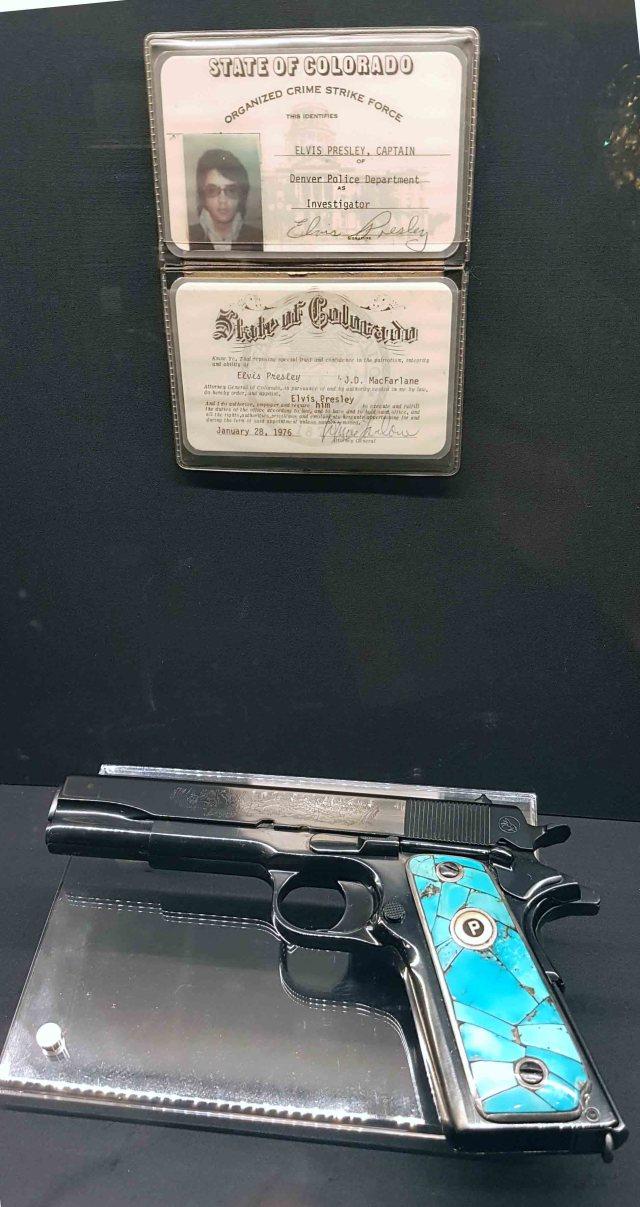 Elvis Prestley Gun