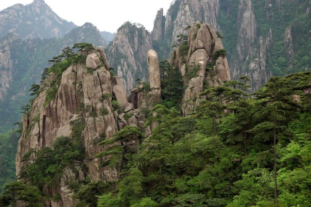 Huangshan Mountains.